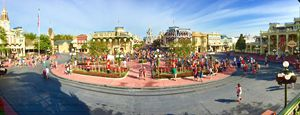 Magic Kingdom Panorama - Brent