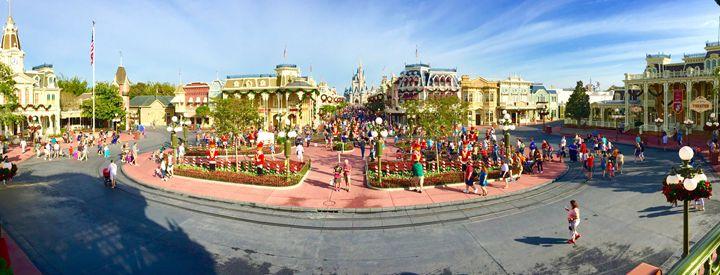 Magic Kingdom Panorama - Brent