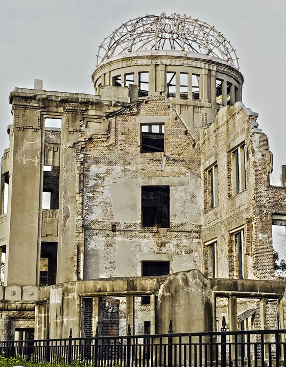The Atomic Bomb Dome - Japanese Artist