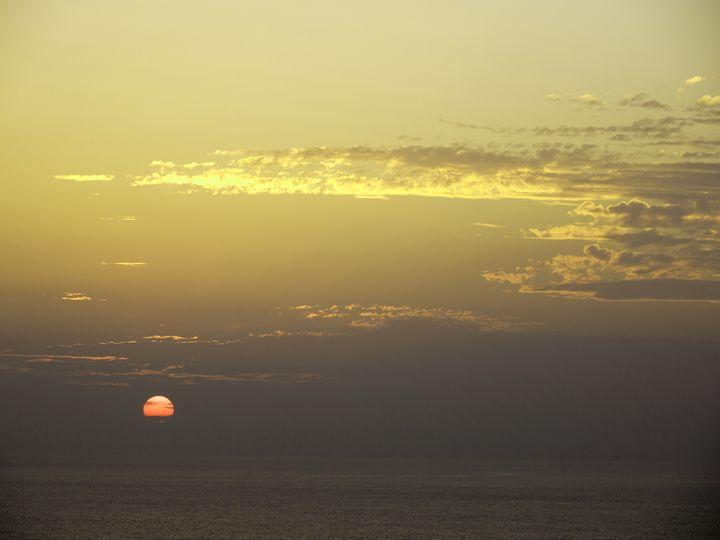 Sunset - Japanese Artist