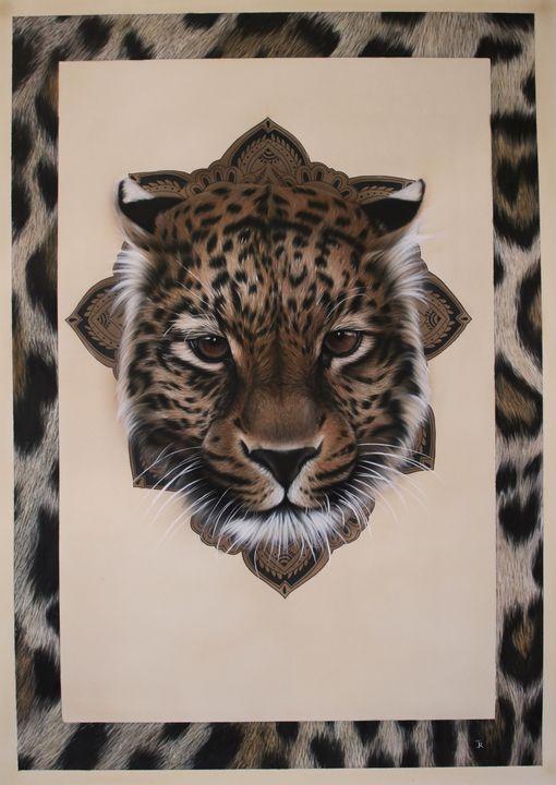 léopard - Jessica renault