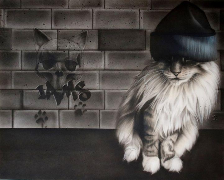 Bad cat - Jessica renault