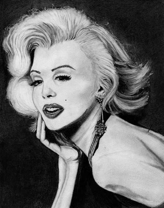 Oh Marilyn - Jessica Spicer Art