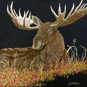 Autumn Siesta, Moose