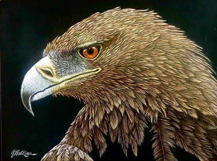 Raptor's Repose, Golden Eagle - Jwatkins
