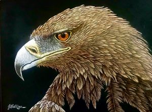 Raptor's Repose, Golden Eagle
