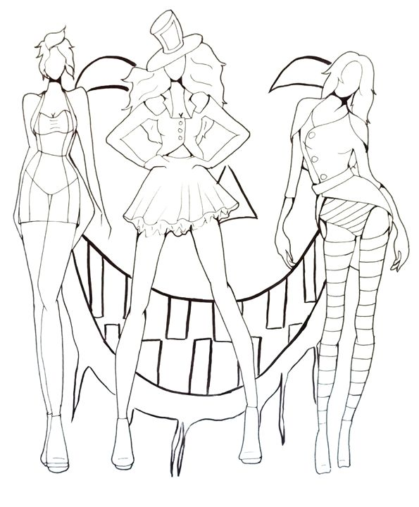 Ursula, Shadowman, Scar - Art pieces