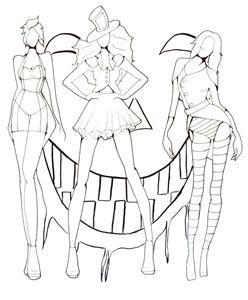 Ursula, Shadowman, Scar