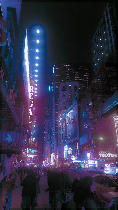 PURPLE STREET - Thomas Conrad