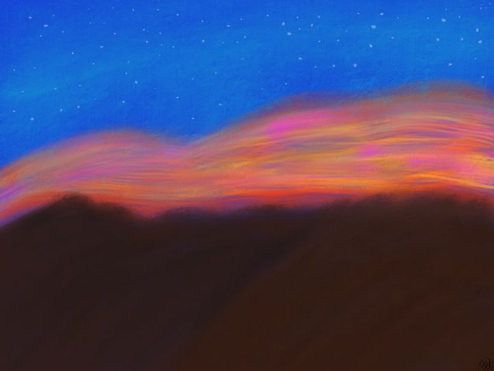 Mountain Sky - ebd artworks