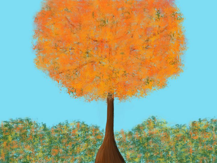 Orange Tree - ebd artworks
