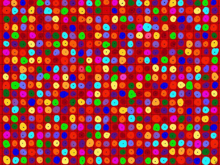 Colors in Squares - ebd artworks