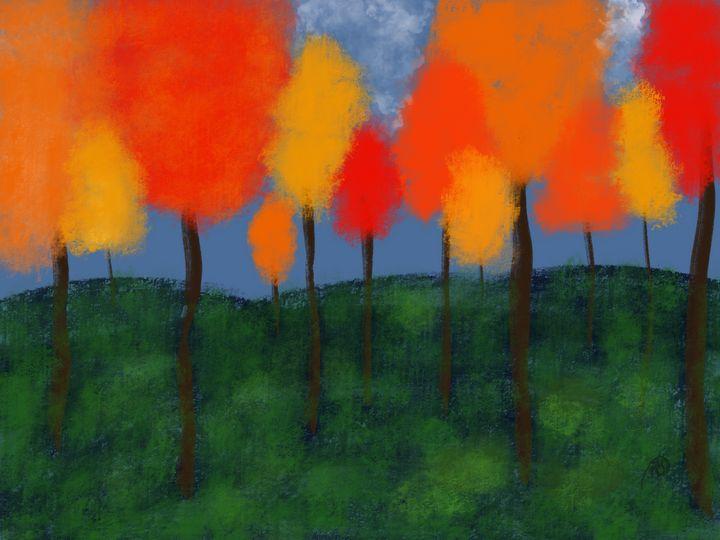 Autumn Trees Series Part 1 - ebd artworks