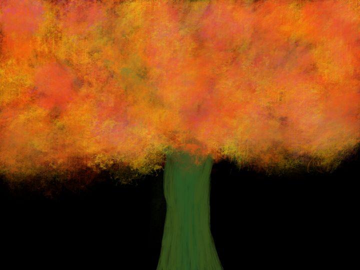 Surreal Autumn Tree - ebd artworks