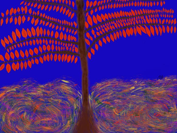 Red Leaves - ebd artworks