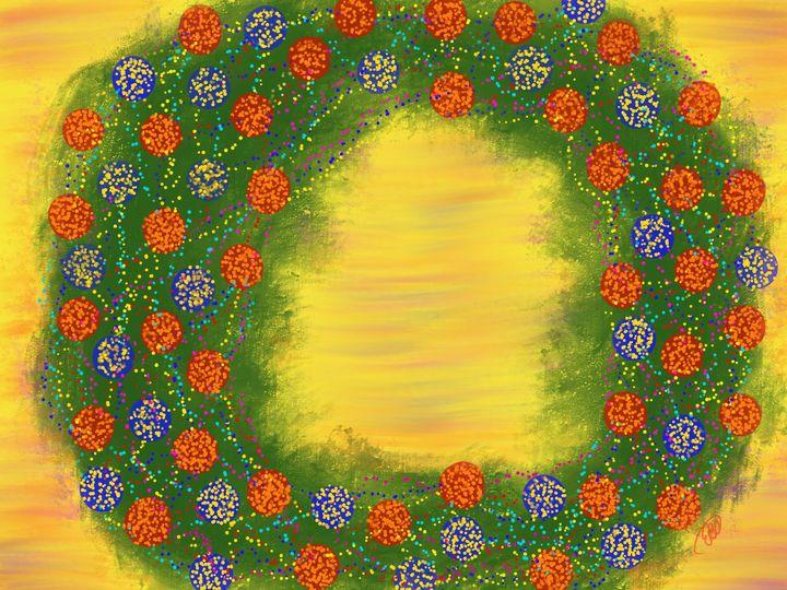 Dotted Wreath - ebd artworks