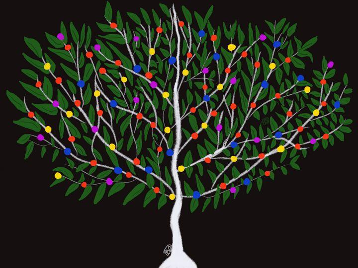 Holiday Tree - ebd artworks
