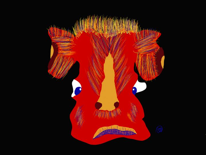 Red Cow - ebd artworks