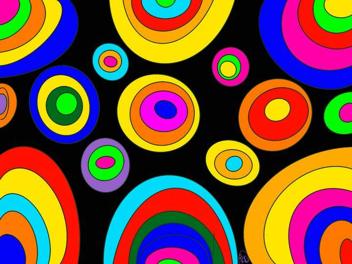 Colored Circles - ebd artworks