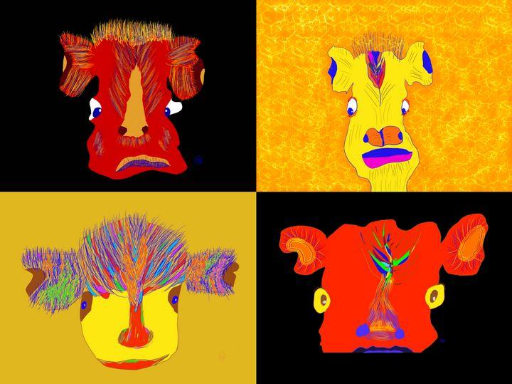 Just Faces - ebd artworks