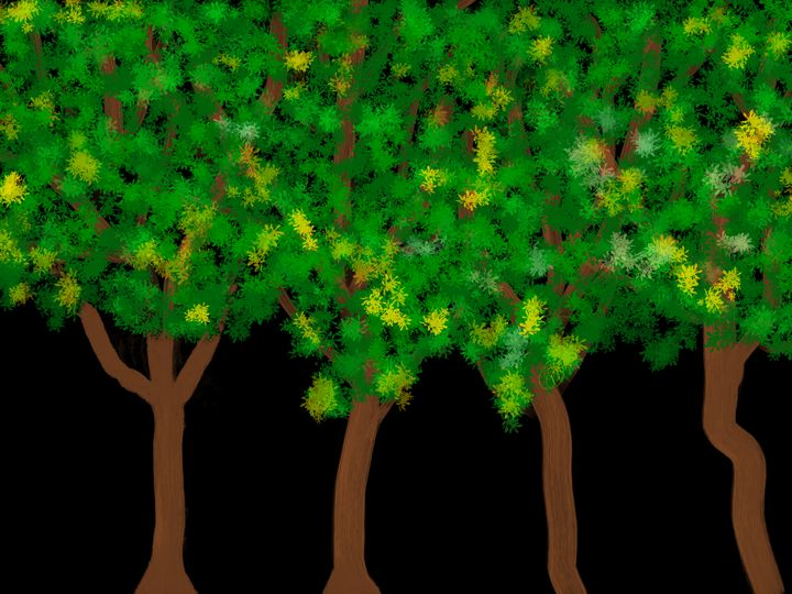 Night Trees - ebd artworks
