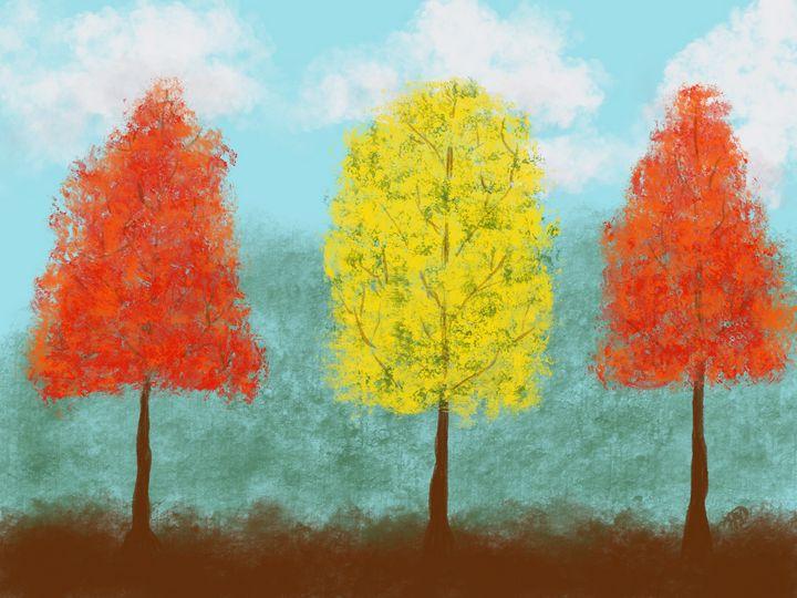 3 Trees - ebd artworks