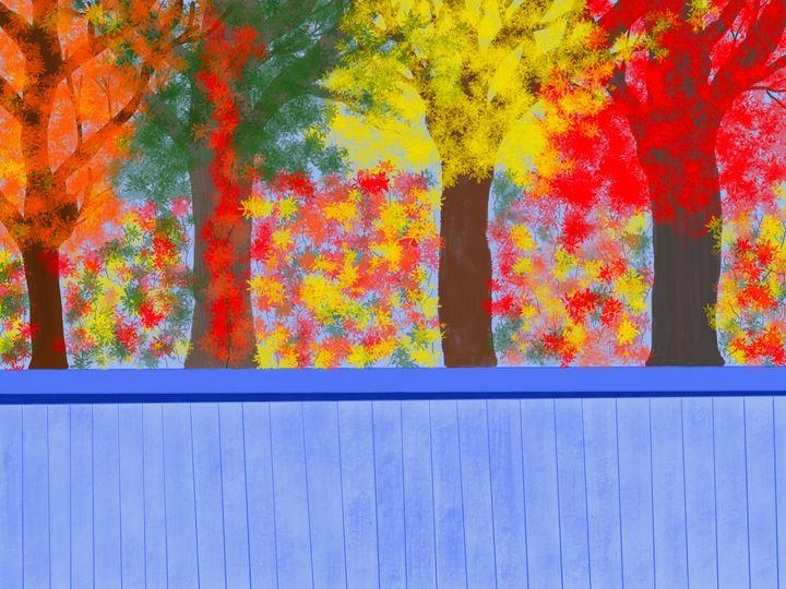 Rolling Hills Fall - ebd artworks