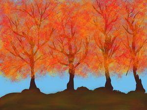More Autumn Trees