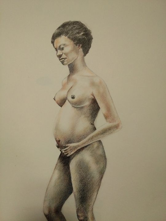 Woman with Child - MIKE'S ARTWORLD