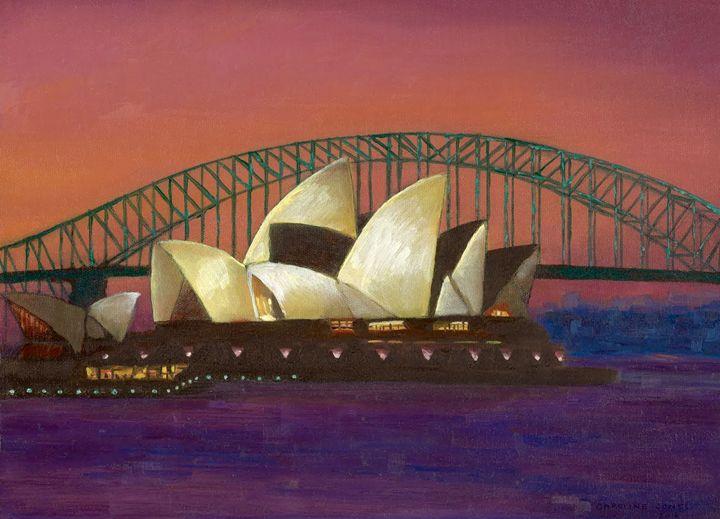 Iconic Sydney Sunset - Caroline Jones