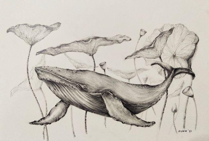 The Lotus under water.(Bua Dtai Nam) - BB25
