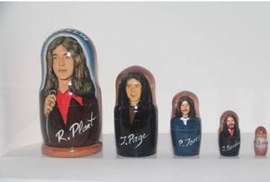 Led Zeppelin 5 Pc Art