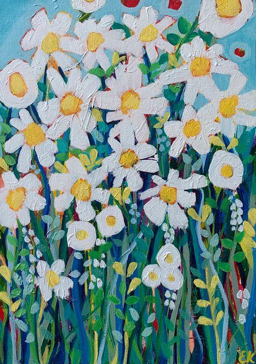 Bright Little Daisies - Eileen Kiely