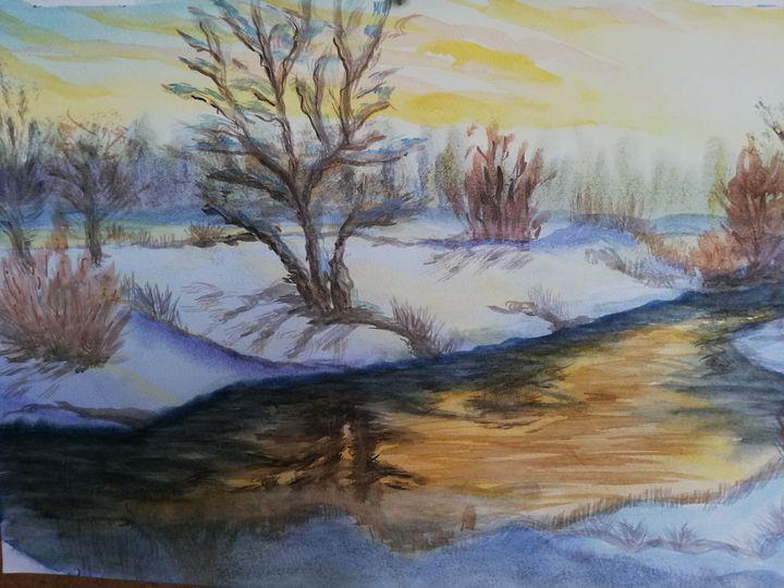 А воды уж весной шумят - Landscapes