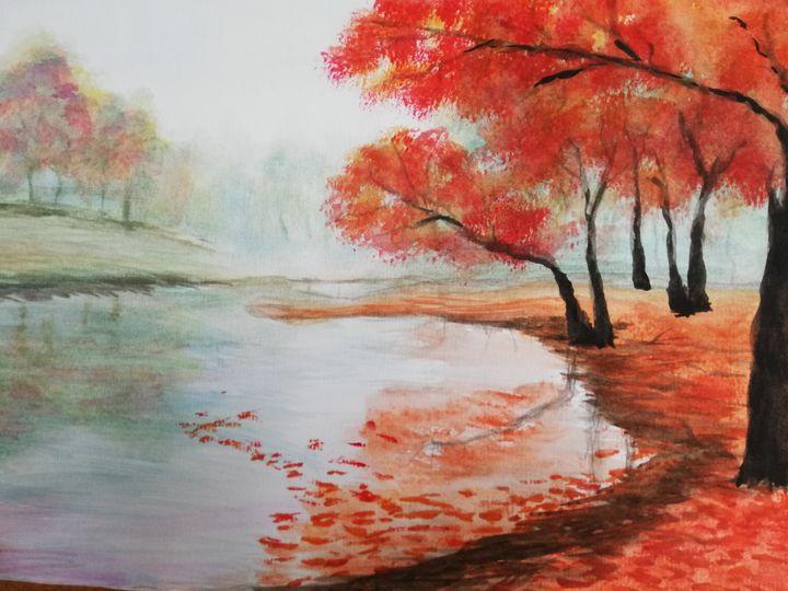 Алая пора - Landscapes
