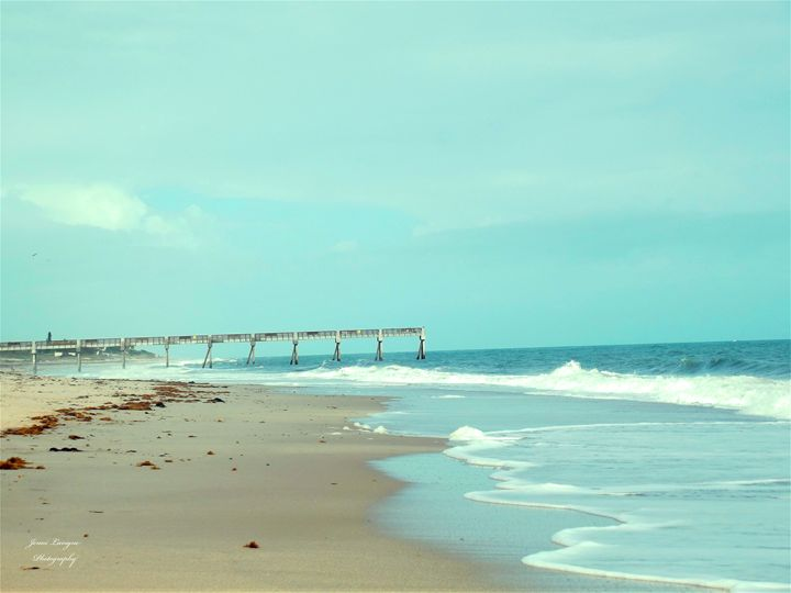 Vero Beach with Pier - Jenni's Gallery