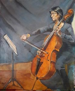 The Cellist  Armine