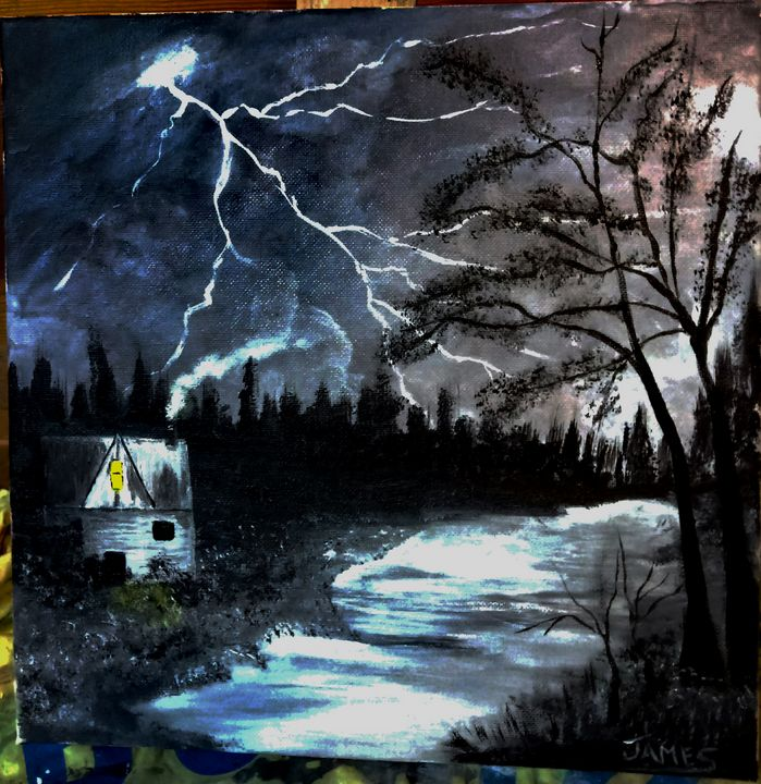A Stormy Night At Home. - Nothern Border Artist