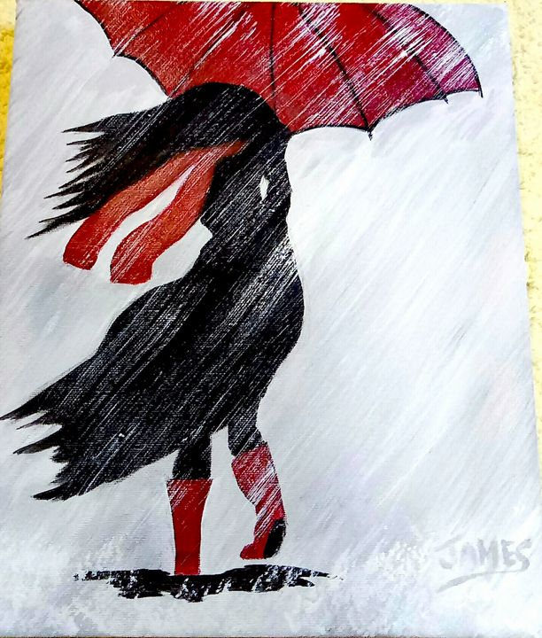 A Stormy Day In Scotland. - Nothern Border Artist