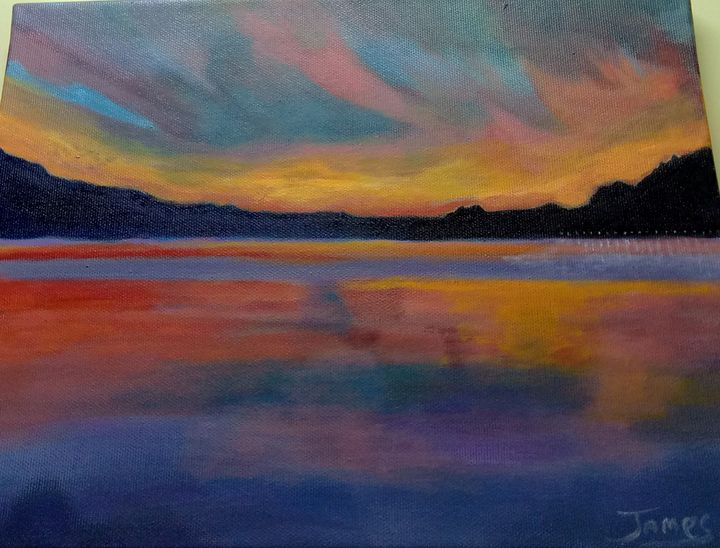 The Sea Of Galilee - Nothern Border Artist
