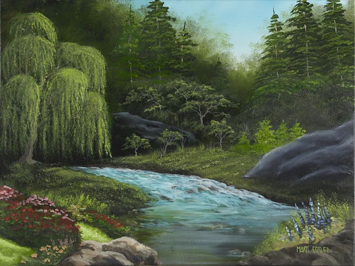 Willow Stream - Mark Eckley