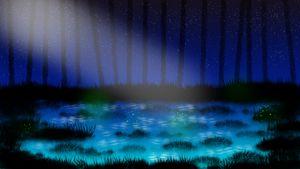 Blue Fantasy Pond