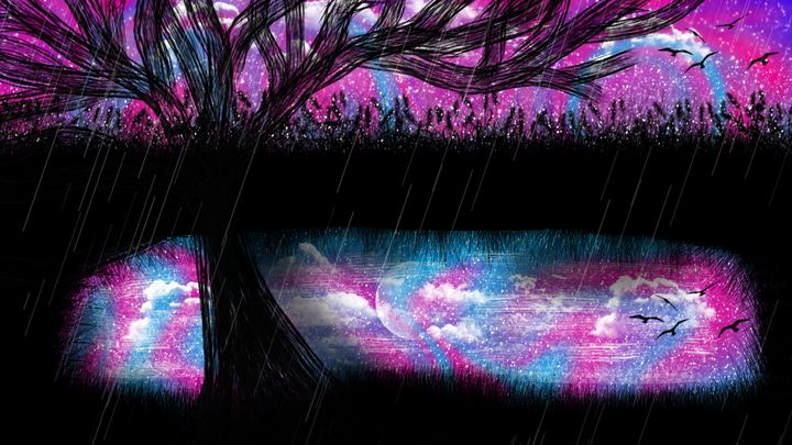 Tree Concept Art - Exiled Emotion Art