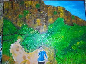 my climb at tsodilo hills