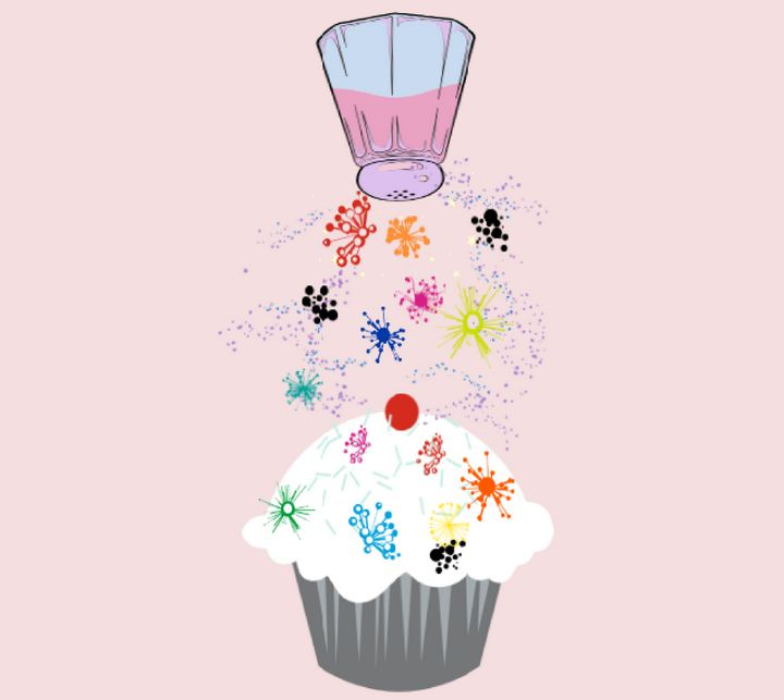 Sprinkled Cupcakes - TeabiscuitsArts