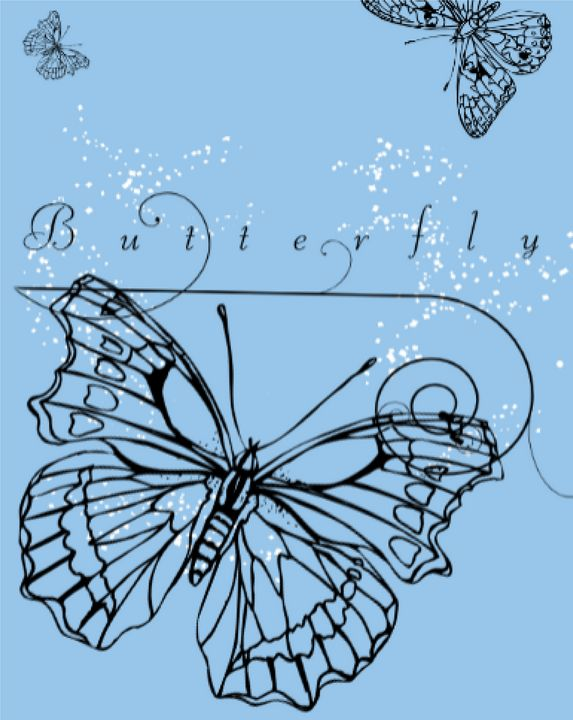 Butterfly - TeabiscuitsArts