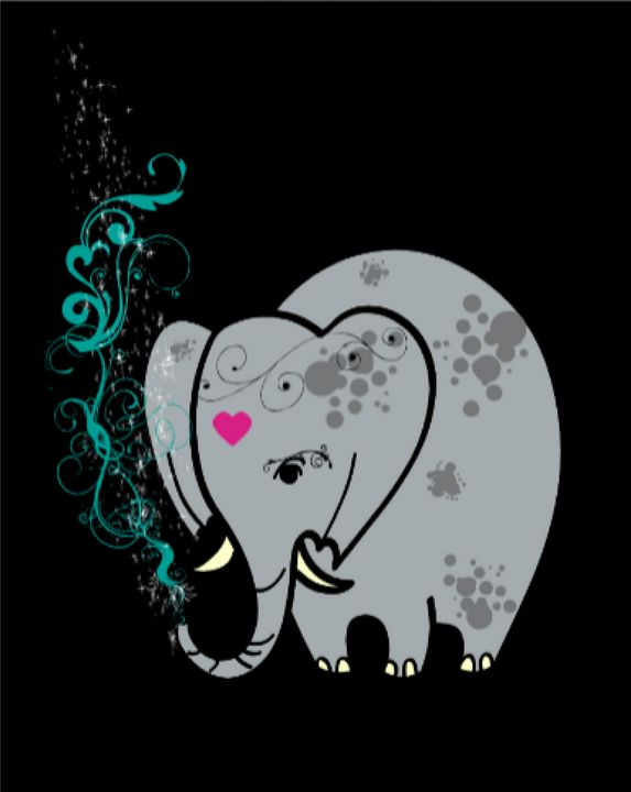Elephant - TeabiscuitsArts