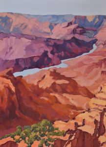 'Canyon Stream IV' - brinnerArt