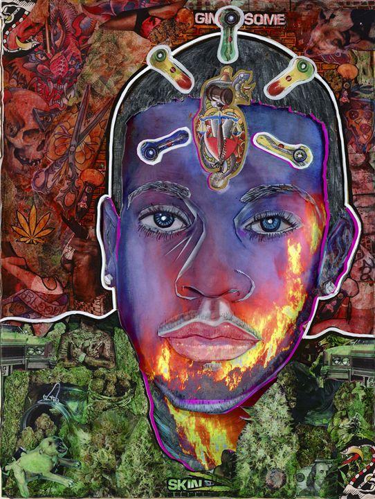Inner Flame - Evan Schwartz Art