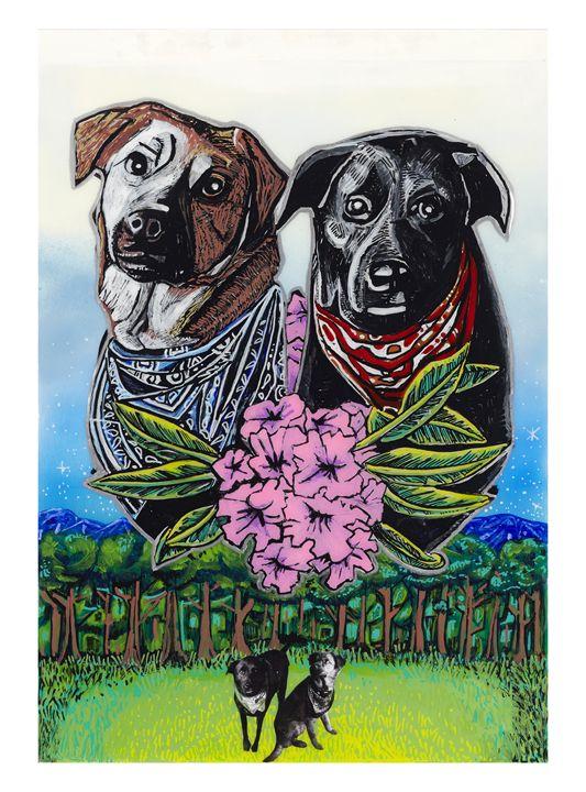 Top Field Dogs - Evan Schwartz Art